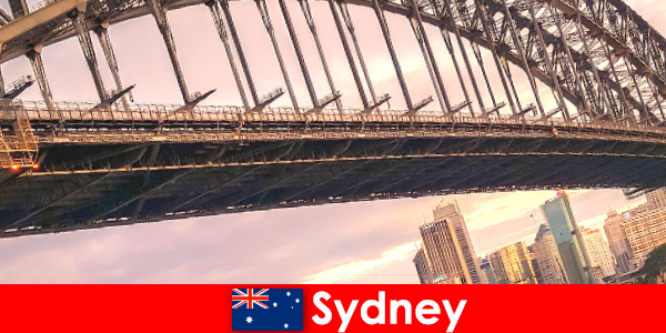 Sydney with its bridges is a very popular destination for Australia travelers