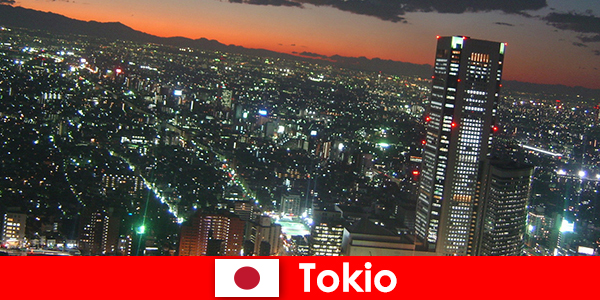 Strangers love Tokyo - the largest and most modern city in the world