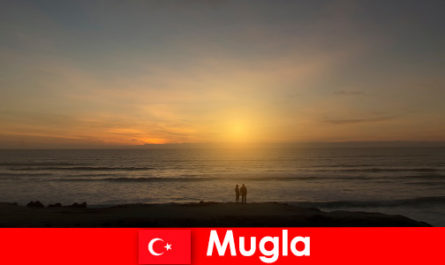 Summer trip in Mugla Turkey with picturesque bays for lovers of the heart of the city