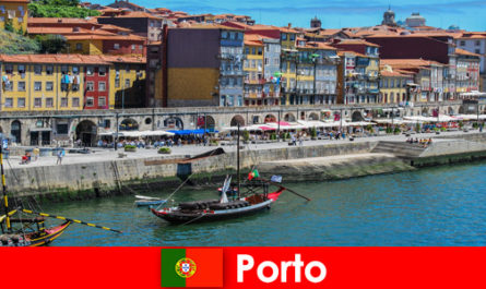 City break for visitors to Porto Portugal with charming bars and local restaurants