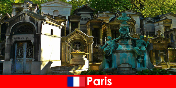 Europe trip for cemetery lovers with extraordinary tombs in France Paris