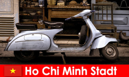 Ho Chi Minh City Vietnam offers vacationers moped tours through the lively streets