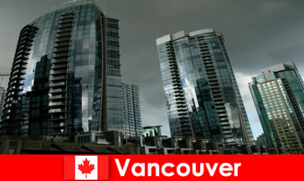 For strangers, Vancouver in Canada is always a destination for imposing high-rise buildings