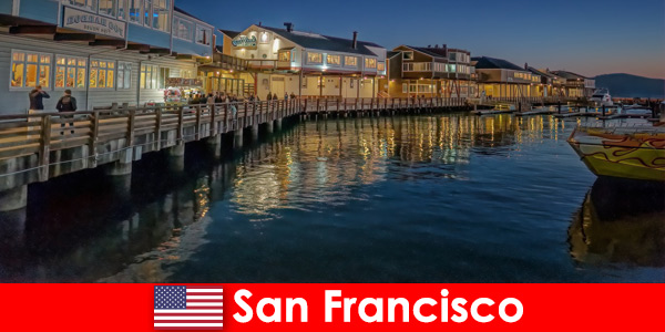 San Francisco, United States, the waterfront is a secret favorite of vacationers