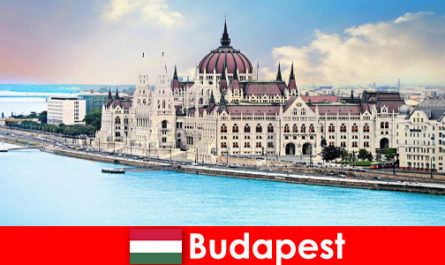 Budapest beautiful city with many sights for tourists