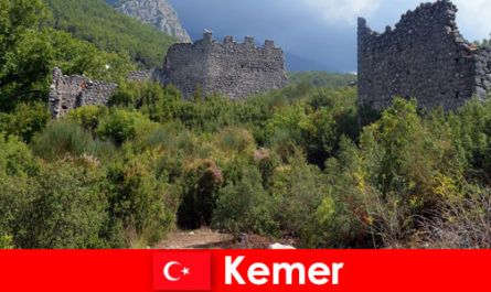 Study trip to the ancient ruins in Kemer Turkey for explorers