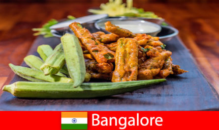 Bangalore in India offers travelers delicacies from local cuisine and a shopping experience