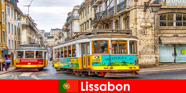 Historic streets of Lisbon Portugal with a touch of nostalgia for the cultural traveler