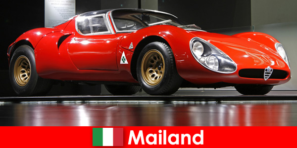 Milan Italy has always been a popular travel destination for car lovers from all over the world