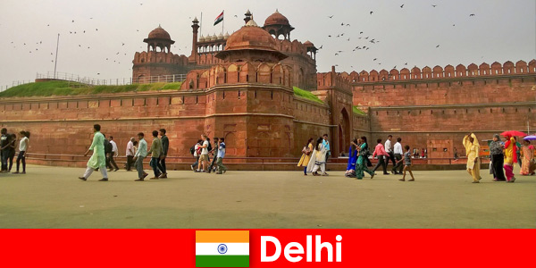 Vibrant life in Delhi India for cultural travelers from all over the world