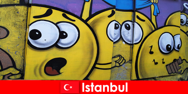 Turkey Istanbul's scene clubs for hipsters and artists from all over the world as a weekend trip