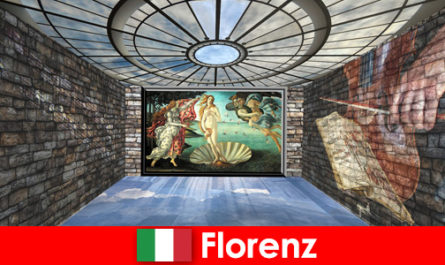 City trip to Florence Italy for art-loving guests of the old masters