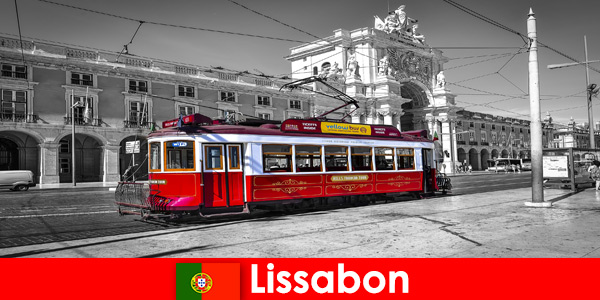 Lisbon in Portugal tourists know it as the white city on the Atlantic