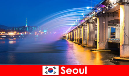 Seoul in Korea is a city of lights that attracts foreigners