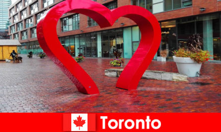 Toronto Canada as a colorful city is experienced by foreign visitors as a multi-cultural metropolis