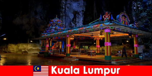 Kuala Lumpur Malaysia gives travelers deep insights into the ancient limestone caves