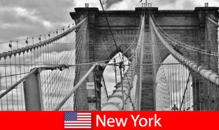 Spontaneous trip abroad to the metropolis of New York United States