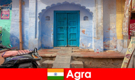 Trip abroad to Agra India in rural village life