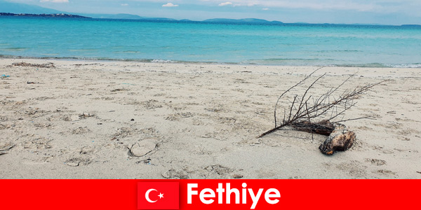 Relaxation trip for stressed tourists on the Turkish Riviera Fethiye