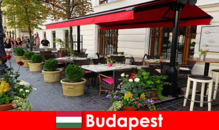 Short vacation destination in Budapest Hungary for visitors with a taste for upscale gastronomy