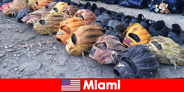 Dream vacation for travelers to the sports parks of Miami United States