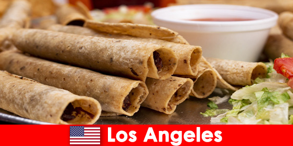 Foreign visitors can expect a varied culinary event in the best restaurants in Los Angeles United States