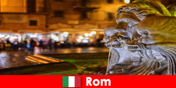Bus tour for week guests through the wonderful city of Rome Italy