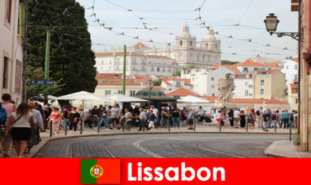 Lisbon Portugal offers cheap hotels to foreign students and schoolchildren