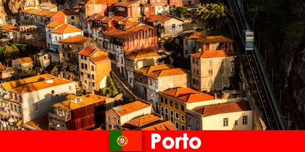 Weekend stroll through the old town of Porto Portugal