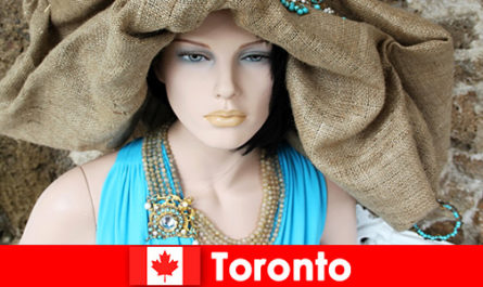 Visitors can find all sorts of quirky shops in cosmopolitan downtown Toronto Canada