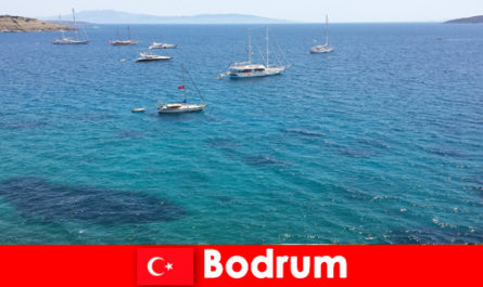 Luxury vacation for foreigners in the beautiful bays in Bodrum Turkey