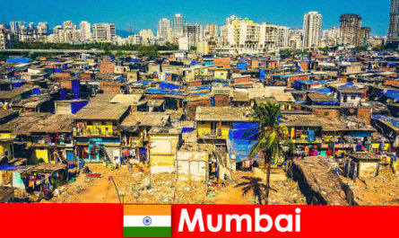 In Mumbai India, travelers experience the contrasts of this wonderful city