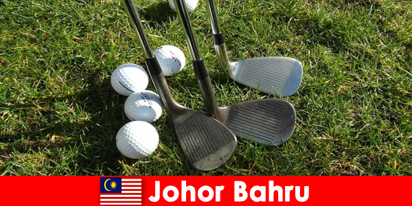 Insider tip - Johor Bahru Malaysia has many wonderful golf courses for active tourists