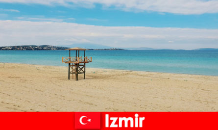 Relaxing vacationers will be enchanted by the beaches in Izmir Turkey