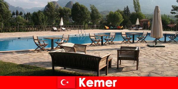 Cheap flights, hotels and rental houses to Kemer Turkey for summer vacationers with families