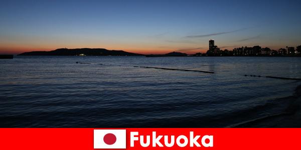 Regional group tour through Fukuoka Japan's beautiful city