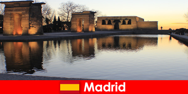 Popular destination for excursions to Madrid Spain for European students