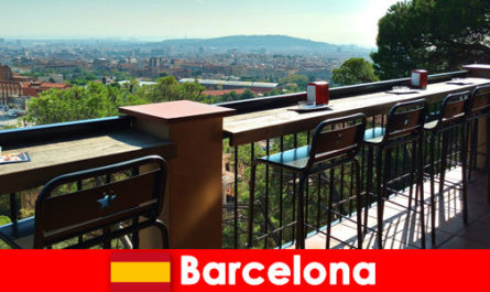 Pure big city flair for visitors to Barcelona Spain with bars, restaurants and the art scene