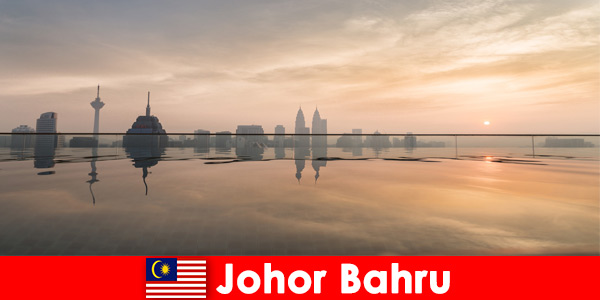 Hotel bookings for holidaymakers in Johor Bahru Malaysia always book in the city center